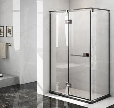 折型钢化玻璃开门淋浴房  AL00F901系列