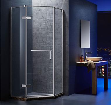 钢化玻璃淋浴房 折形淋浴房 AL21F5