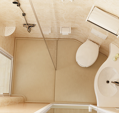浴室精致拉手玻璃门淋浴屏风 ALF211102