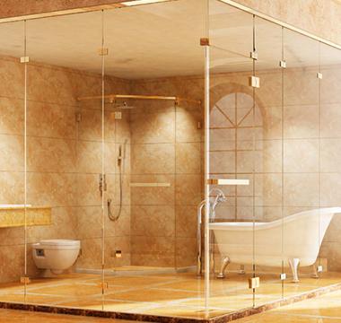 进口一字型开门淋浴房  AL21F1201系列